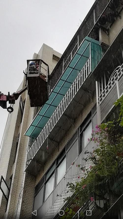 台北市萬華區 採光罩工程