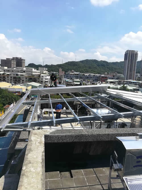 台北市鶯歌區鐵皮屋